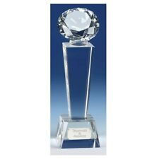 Phoenix Diamond Crystal Award Trophy FREE ENGRAVING, GIFT BOX & DELIVERY 3 Sizes