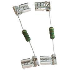 """Capacitor Bleeder Resistor , 15K Ohm, 2 Watt with 1/4"""" Connectors , 2-PACK"""