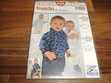 BURDA-BABY Schnittmuster 9905              2x  SWEATSHIRT          62-86