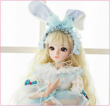 BJD Doll 1/3 Beauty Girl Dolls Free Face Makeup Wigs Clothes Shoes FULL SET 666