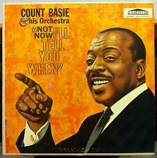 Count Basie - Not Now I'll Tell You When LP VG F 9063 Vinyl 1960 Forum USA Mono