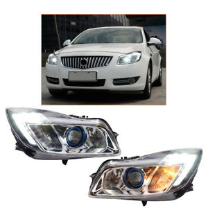 Headlight Assembly For Buick Regal 2011-2013 HID Projector LED DRL Replace OEM