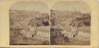 Napoli? Panorama Italia Stereo Vintage Albumina Ca 1860
