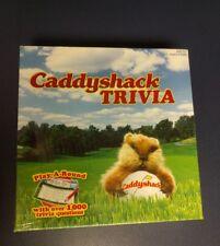 Caddyshack Golf Movie Caddy Shack Trivia Game Warner Bros Complete Brand NEW MIP