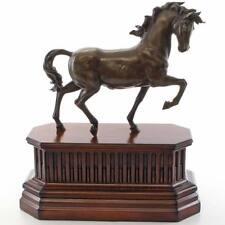 BRONZE FIGUR PFERD ca.46½cm Florentiner SKULPTUR schreitendes PFERD BRONZE HORSE
