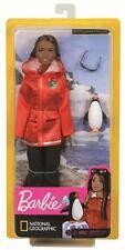 Mattel - Barbie Polar- und Meeresbiologin Puppe - Biologin Brünett Pinguin Doll