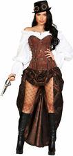 6pc Machinery Steampunk Costume Adult Women