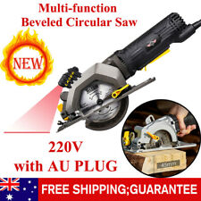 220V Household Multi-function Beveled Circular Saw Without Laser Cutting Tool
