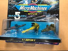 Babylon 5 Micro Machines Set 1 Galoob 1995 Sealed Unopened