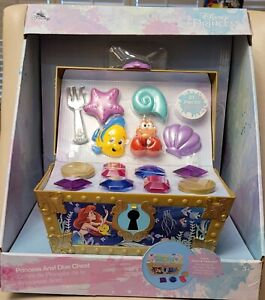 Disney Store The Little Mermaid - Princess Ariel Dive Chest Play Set - NIB Rare