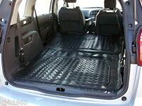 3pc modular rubber boot liner load mat bumper protector Peugeot 5008 2009-2016