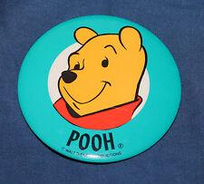 "Nice Disney Winnie The Pooh Pin Back Button 3 1/2"""