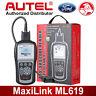 Autel ML619 Car ABS SRS Code Reader OBD2 CAN Automotive Scanner Diagnostic Tool