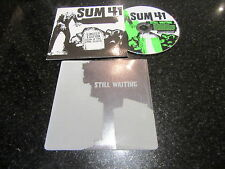 "SUM 41 ""STILL WAITING"" LTD ED GLOW IN THE DARK SLEEVE CD SINGLE"