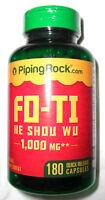 Fo Ti He Shou Wu Root Extract 1000mg 180 Pills Capsules