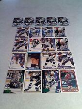 *****John Tucker*****  Lot of 100+ cards.....30 DIFFERENT / Hockey