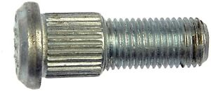 65-72 PLYMOUTH DODGE 64-72 OLDSMOBILE 65-66 GMC 10 FRONT WHEEL STUDS W/DRUMS