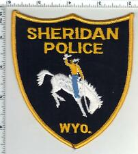 Sheridan Police (Wyoming) 2nd Issue Shoulder Patch