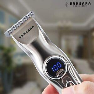 Professional Hair Clippers Cordless Beard Trimmer Men Cutting Machine Barber Set
