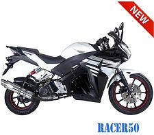 49cc Street Sport Bike Scooter Motorcycle Racer50 w/ LED Lights Adjustable Shock