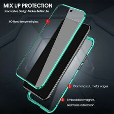 Protector For Xiaomi Redmi Note K30 Magnetic 360 Tempered Glass Case Cover GREEN