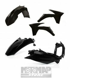 Kit Plastiche Carene Acerbis Ktm EXC F EXCF 250 350 450 500 2012 2013 Nero