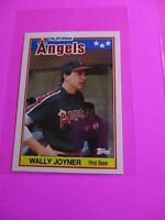 1988 Topps TIFFANY, UK American Baseball Mini,  MINT Wally Joyner #40 Rare!