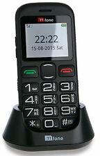 TTfone Jupiter 2 Big Button Easy Senior SIM Mobile Phone Emergency Button