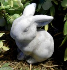 "Latex bunny rabbit mold plaster concrete casting mold 3.5""H x 2""W"