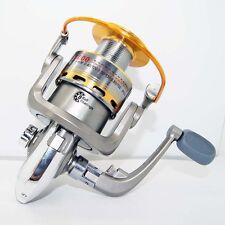 Pescar Caña Aparejos8BB Spinning Fishing Reel 5.1:1 Aluminum Spol ST6000A silver