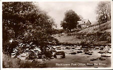 Blacklunans near Blairgowrie. Post Office from the River by J. B. White # 893.