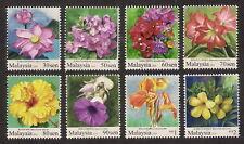 [KKK] 2010 MALAYSIA GARDEN FLOWERS DEFINITIVE (8v) MNH