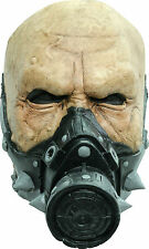 BRAND NEW Gas Mask Chemical Mutant ADULT LATEX BIOHAZARD AGENT ZOMBIE HALF MASK
