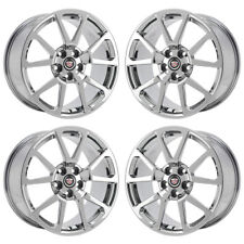 """19"""" Cadillac Cts-V Coupe Pvd Chrome Wheels Rims Factory Oem Gm Set 4 4647 4677"""