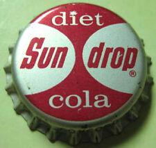 SUN DROP DIET COLA Cork Bottle CAP, Crown, Concord, NORTH CAROLINA 1950's