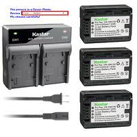 Kastar Battery AC Rapid Charger for Panasonic VW-VBK180 VBK180 VW-VBK360 Battery