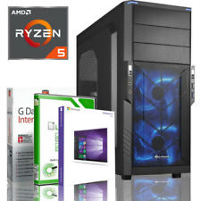 EXO GAMING PC AMD RYZEN 5 2400G 8GB DDR4 500GB Vega 11 Windows 10 WLAN Computer