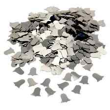 CSC Imports SILVER WEDDING BELLS Table Confetti 14 Gram Party Sprinkles