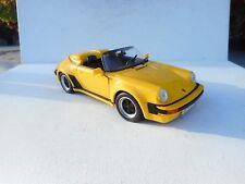 1:18 Maisto Special Edition 1989 Porsche 911 Speedster in Yellow 31802 N MINT