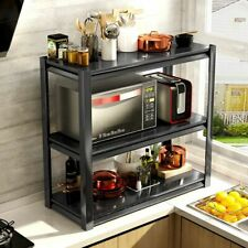 Multi Layer Storage Shelves Microwave Oven Rack Kitchen Household Sundry Holder