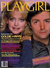 PLAYGIRL  NOVEMBER 1980   Mark Taylor  GOLDIE HAWN   Joe Spondike   KID COURAGE