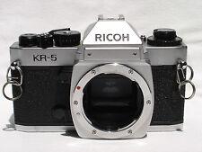 Ricoh KR-5  35mm SLR camera body only, - Pentax K (PK) lens mount SN50208573