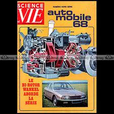 SCIENCE & VIE HS 79 ★ SALON AUTO 1968 ★ VOITURE ELECTRIQUE FORMULE SPORT WANKEL