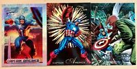 1994 Marvel Masterpieces Holofoil  #1 & 1992 Marvel Masterpieces 5-D & Bonus Car