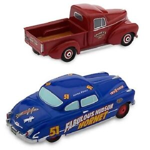 Disney Fabulous Hudson Hornet and Smokey Die Cast Cars Twin Pack Cars 3