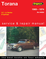 Holden Torana LC, LJ 1969-1974 Repair Manual