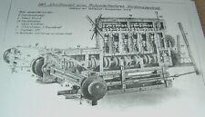Korbuly Matador Bauanleitung 33x22 cm 3 Bögen 1930er Baukasten Holzbaukasten