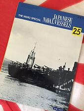IJN SEAPLANE TENDERS Chitose Chiyoda Mizuho MORE! Vintage MARU SPECIAL Vol 25