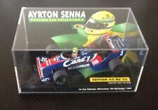 NEW Minichamps 1:43 Ayrton Senna Toleman TG183B Hart Silverstone Test 1983 F1
