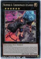 AC14-DE015 Number 6: Chronomaly Atlandis Super Rare UK Legal GERMAN YuGiOh Card